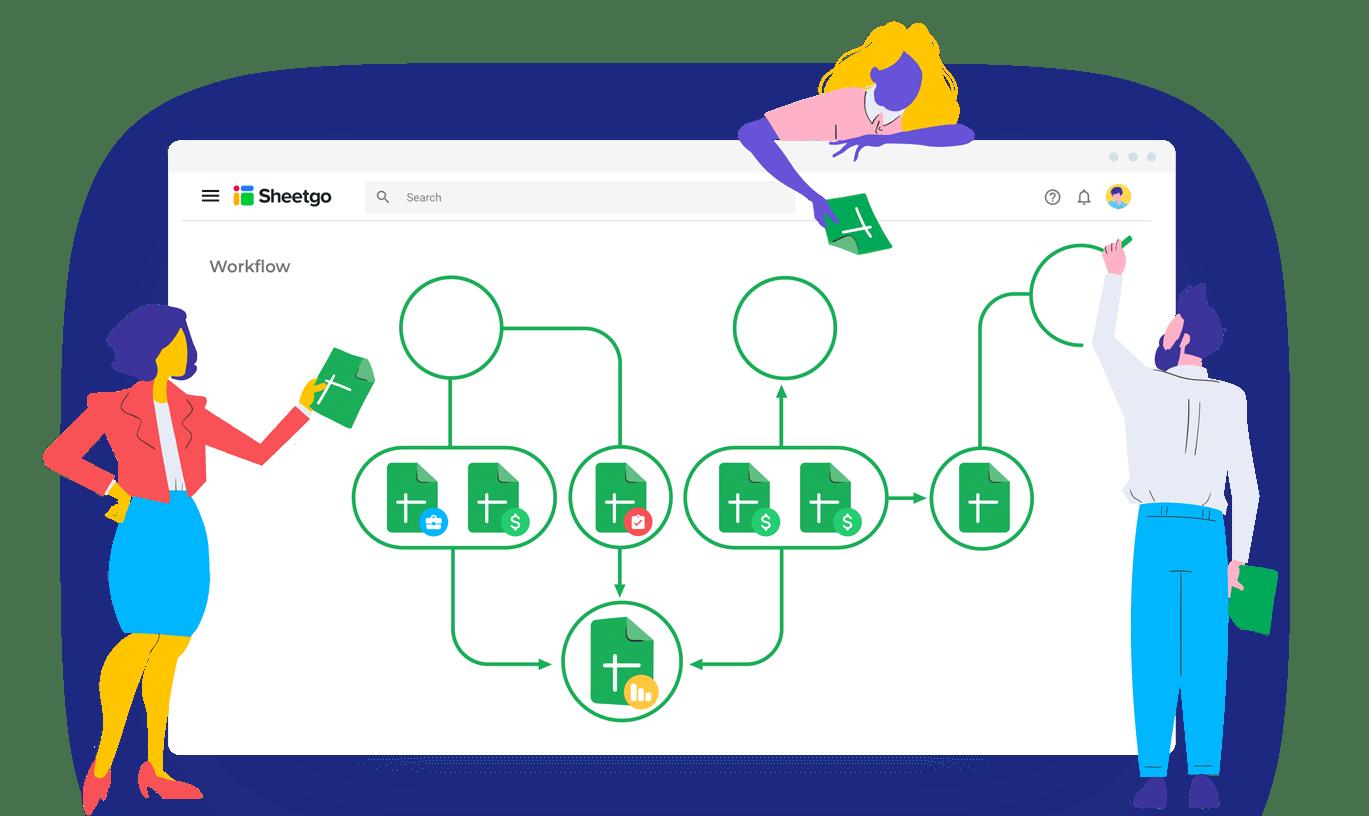 Sheetgo: Create workflows from your spreadsheet
